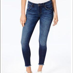 ❤️ STS Blue Emma Fray-Hem Ankle Skinny Jeans ~ 32